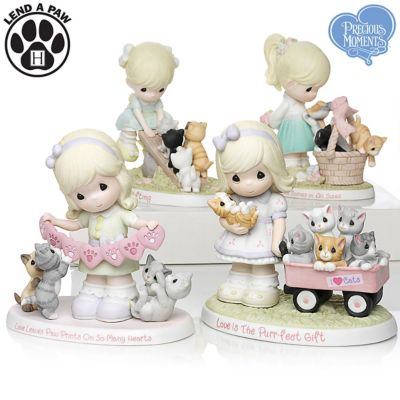 Figurines Precious Moments Purr Ecious Moments Together