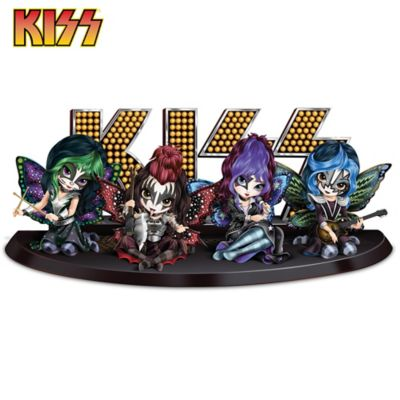 Jasmine Becket Griffith Kiss Tribute Fairy Figurine Collection
