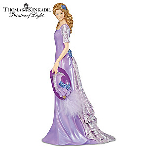 Thomas Kinkade Alzheimer's Support Lady Figurine