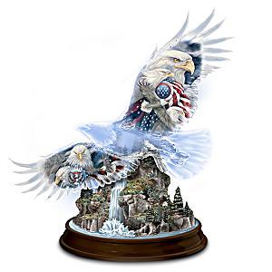 Jody Bergsma Eagle Art Eagle Figurine