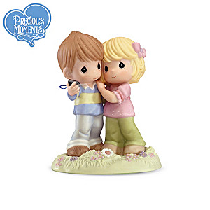 Precious Moments You Capture My Heart Figurine