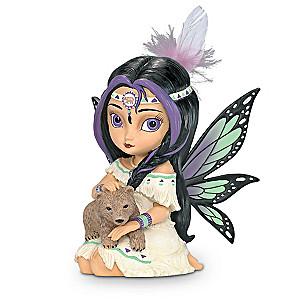 """Jasmine Becket-Griffith """"Spirit Of Power"""" Fairy With Bear"""