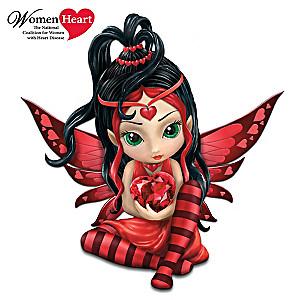 """Jasmine Becket-Griffith Heart Health """"Love"""" Fairy Figurine"""