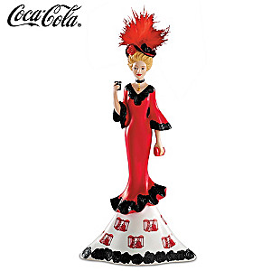 "COCA-COLA ""Radiant Beauty"" Victorian Lady Figurine"
