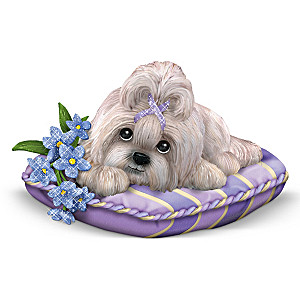 Shih Tzu Figurine Supports Alzheimer's Research