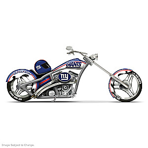 New York Giants Chopper With Official Team Logos