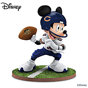 "Mickey Mouse Chicago Bears ""Quarterback Hero"" Figurine"