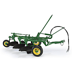 "1:16-Scale ""John Deere #55 3-Bottom Plow"" Diecast"