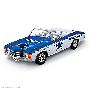 Dallas Cowboys 1971 Chevy Chevelle SS 454 Sculpture
