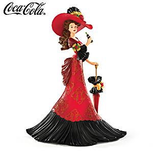 """""""Refreshing Interlude"""" COCA-COLA Victorian Fashion Figurine"""