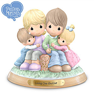 Precious Moments 35th Anniversary Commemorative Figurine
