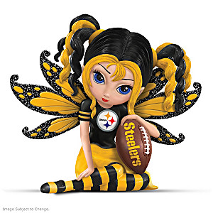 Jasmine Becket-Griffith Pittsburgh Steelers Fairy Figurine