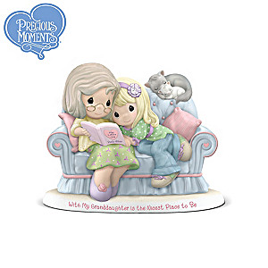 Precious Moments Grandmother/Granddaughter Bond Figurine