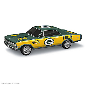 Green Bay Packers Super Bowl I 1966 Chevelle SS Sculpture