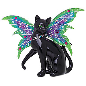 """Blake Jensen """"Aurora"""" Cat Fairy With a Swarovski Crystal"""