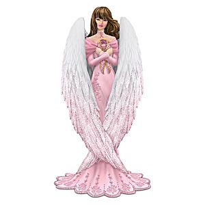 """Brooke Gillette Breast Cancer Support """"Hope"""" Angel Figurine"""