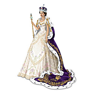 """The Coronation Of Queen Elizabeth"" With Collector's Card"
