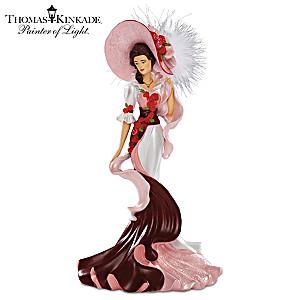 "Thomas Kinkade ""Elegant Perfection"" Victorian Lady Figurine"