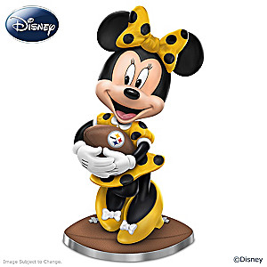 "Disney ""So Minnie Reasons To Love The Steelers"" Figurine"