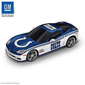 Indianapolis Colts Super Bowl XLI Chevy Corvette Sculpture