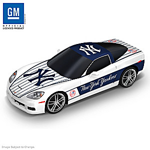 "New York Yankees ""Home Run Cruiser"" 2009 Corvette Sculpture"