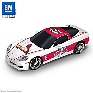 "St. Louis Cardinals ""Home Run Cruiser"" Corvette Sculpture"
