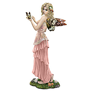 """Bente Schlick """"Dreamscape Delight"""" Fairy Figurine"""