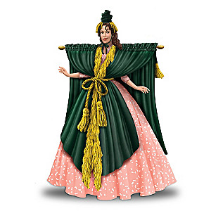 "Carol Burnett Starlet O'Hara ""Went With The Wind"" Figurine"