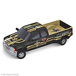 Saints Super Bowl XX Chevy Silverado Sculpture