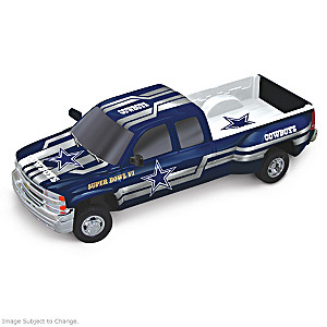 Cowboys Super Bowl VI Chevy Silverado Sculpture