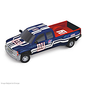 Giants Super Bowl XXI Chevy Silverado Sculpture