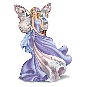 Lena Liu Fluttering Faith Alzheimer's Support Angel Figurine