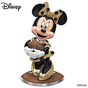"Disney ""So Minnie Reasons To Love The Saints"" Figurine"
