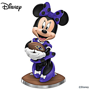 "Disney ""So Minnie Reasons To Love The Ravens"" Figurine"