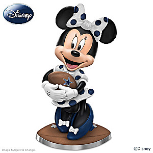 "Disney ""So Minnie Reasons To Love The Cowboys"" Figurine"