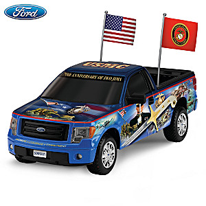 1:18-Scale Ford F-150 Truck With James Griffin Marine Art