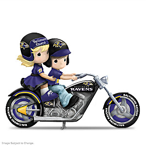 Precious Moments Gearing Up For A Season Ravens Figurine