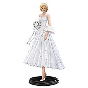 Marilyn Monroe As Lorelei Lee in Bridal Gown with Crystals
