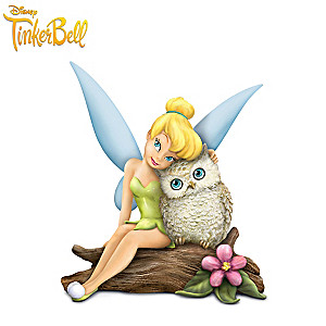 "Disney ""Owl Always Love You"" Tinker Bell And Owl Figurine"