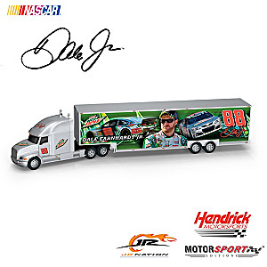 """Dale Jr. Diet Mountain Dew"" 1:16-Scale Semi Hauler"