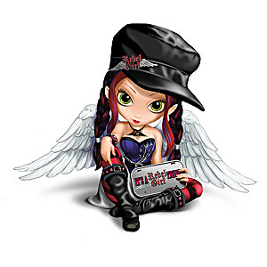 """Jasmine Becket-Griffith """"It's A Rebel Girl Thing"""" Figurine"""
