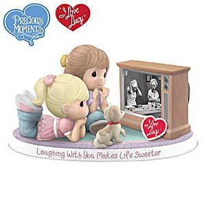Precious Moments I LOVE LUCY Friendship Porcelain Figurine