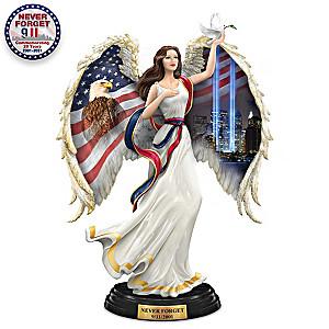 """America's Sacred Guardian Angel"": 9/11 Twin Towers Tribute"