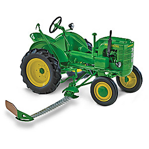 1:16-Scale John Deere L Diecast Tractor With Sickle Mower