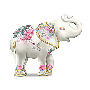 "Lena Liu ""Majestic Beauty"" Garden Elephant Figurine"