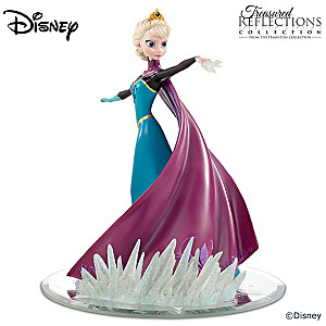 "Disney FROZEN Elsa ""Coronation Day"" Dress Figurine"