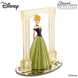 "Disney FROZEN ""For The First Time In Forever"" Anna Figurine"