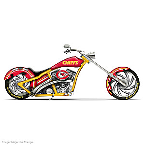 Kansas City Chiefs Chopper With Official Logos And Colors