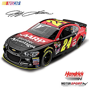 1:24-Scale Jeff Gordon No. 24 2015 AARP Diecast Car