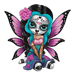 "Jasmine Becket-Griffith ""Bright Sofia"" Sugar Skull Figurine"